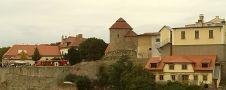 Zámek : Znojmo - pohled na lokalitu, kde stával hrad, od jihovýchodu - foto z. 3. 9. 2015