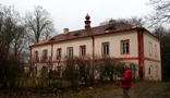 Zámek : Dobrohošť - pohled na zámek od jihojihovýchodu - foto z 30. 1. 2008