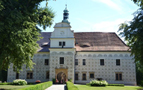Zámek : Doudleby nad Orlicí - pohled na zámek od severu - foto ze 4. 7. 2018 (převzato: Antonín Stára)