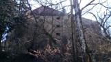 Tvrz : Dřevčice - pohled na tvrz od severu - foto z 26. 3. 2017 (převzato: Jirka Kliner)