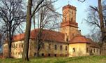 Zámek : Dřínov - pohled na zámek od jihu - foto z 6. 3. 2007 (převzato: Rosťa Kolmačka)