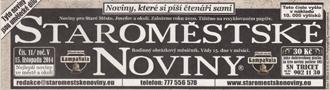 Název : Staroměstské noviny