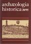 Název : Archaeologia historica