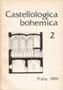 Název : Castellologica bohemica