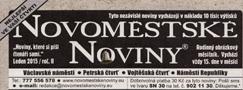 Název : Novoměstské noviny
