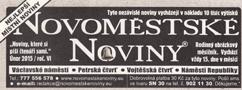 Název : Novoměstské noviny - logo