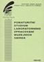 Název : Ročenka : Pomaturitní studium laboratorního zpracování muzejních sbírek 1991-93