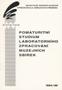 Název : Ročenka : Pomaturitní studium laboratorního zpracování muzejních sbírek 1994-96