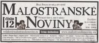 Název : Malostranské noviny
